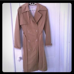 Express trench raincoat
